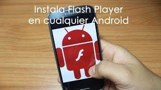 Instala Flash Player en cualquier telefono en 1 minuto! // Tu Android Personal