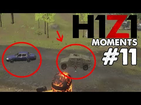New cars revealed by dev ?! - H1Z1 Moments #11