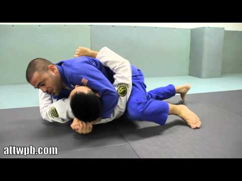 Parrumpinha BJJ Drill - Basic Half Guard Pass Image 1