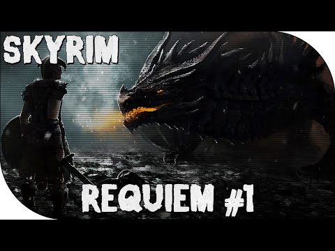 Let's Play Skyrim Requiem: #1 - This is Hardcore...