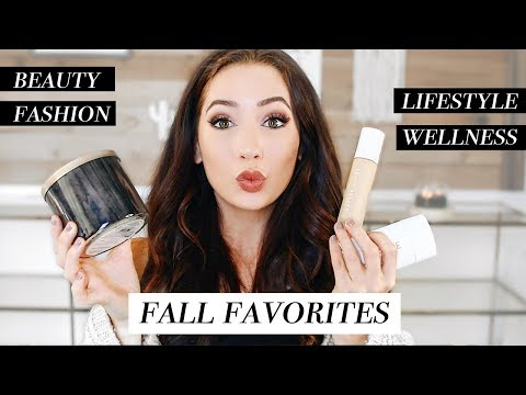 MY FALL 2017 FAVORITES! Beauty, Fashion, & More!   Caitlin Bea