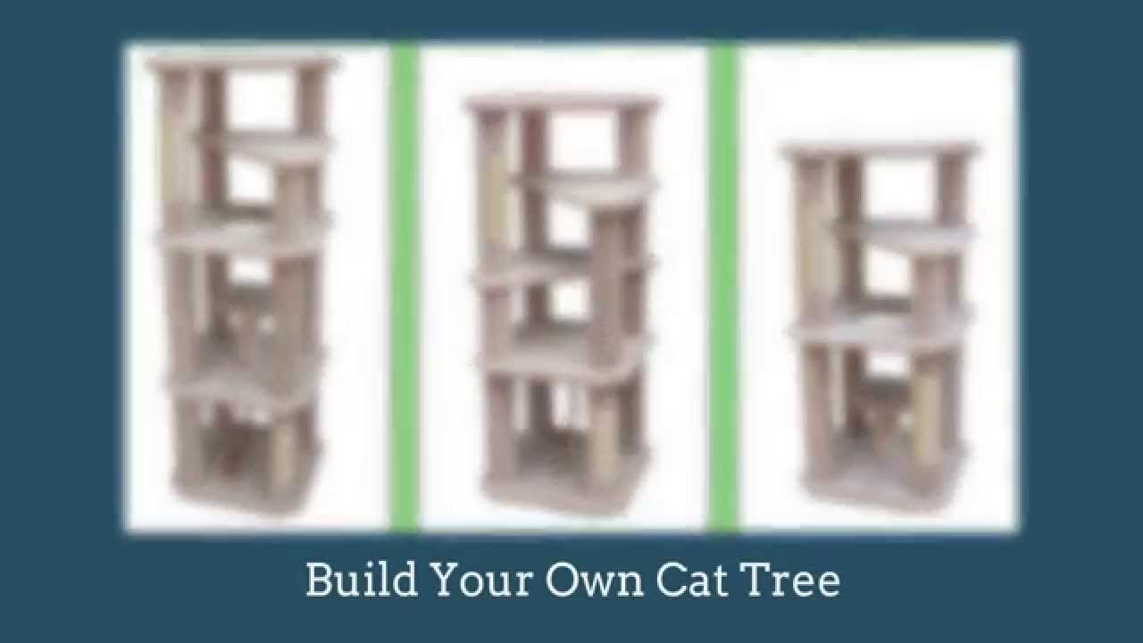 Cat tree plans learn how to build a cat tree youtube - How to make a simple cat tree ...