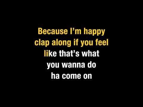 Pharrell Williams   Happy (Karaoke)