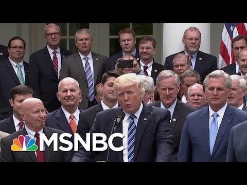President Donald Trump Lies About Tax Bill During Victory Lap | Morning Joe | MSNBC