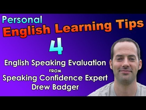 English Speaking & Fast Fluency Tips 4 – English Speaking Evaluation – English Listening Practice