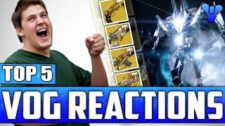 Destiny: Top 5 Vault Of Glass Raid Loot Drop Funny Reactions / Episode 422 - Age Of Triumph