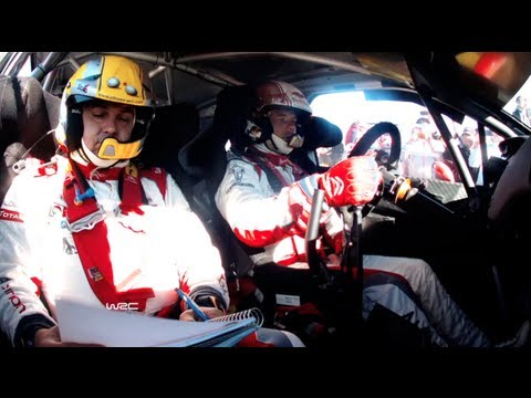 Sébastien Loeb - Full Onboard SS12/ WRC Philips LED Rally Argentina 2013