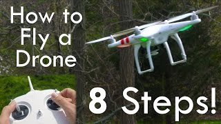 How to Fly a Drone (& NOT Crash) - in 4K!