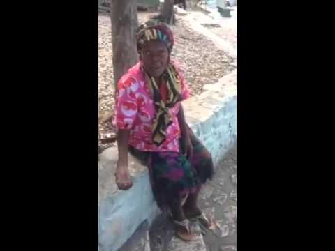 Old prostitute in petition ville Haiti