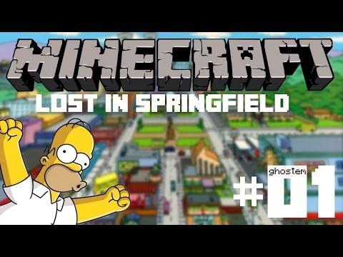 Lost in Springfield [Minecraft] - #01 - Skleněný labyrint! ᴴᴰ