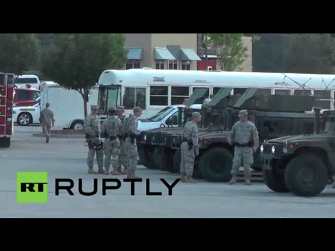 USA: National Guard descends on Ferguson amid shooting unrest