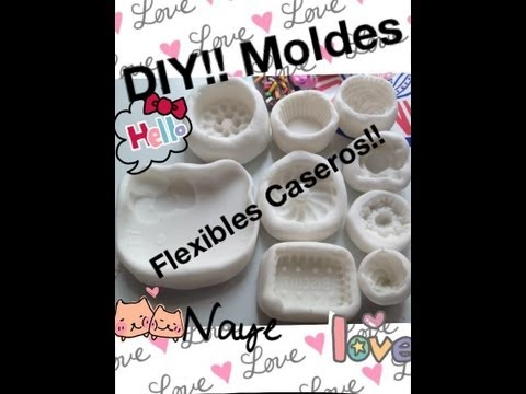 DIY!! Moldes flexibles caseros!!