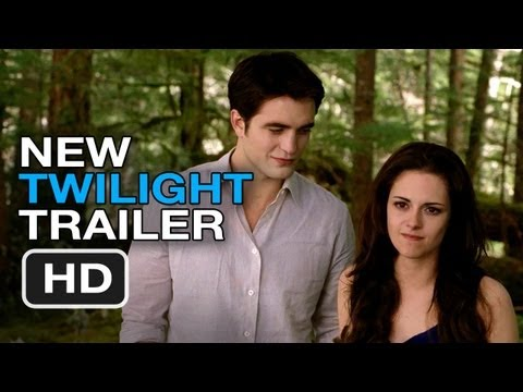 Twilight Breaking Dawn: Part 2 Full Theatrical Trailer (2012) - Robert Pattinson Movie HD