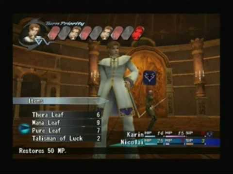 Shadow Hearts Covenant Gameplay Shadow Hearts Covenant Boss 1