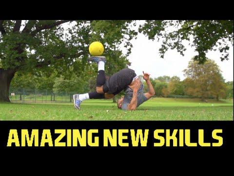Amazing New Skills with Mamba Ball ! F2Freestylers