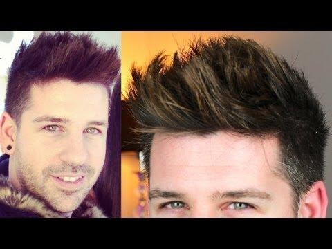 2013 Trend Style – Men Hair Tutorial – Tigi Wax Stick