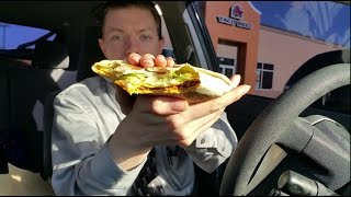 Taco Bell Triple Double Crunchwrap - Food Review
