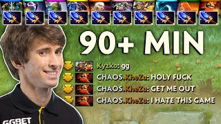10x Aghanims — DENDI in 90 min CRAZY GAME