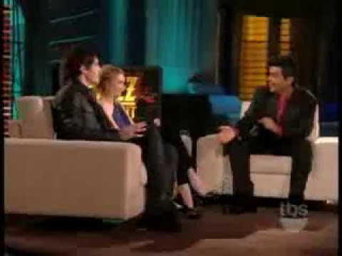 Emma Roberts And Carter Jenkins On Lopez Tonight-February 10, 2010