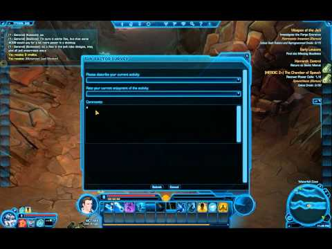SWTOR Gameplay BETA (Jedi Knight)