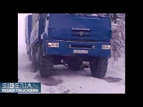 Russian Truck Drivers in Extreme Conditions #3 / Русские грузовики в экстремальных условиях NEW 2014