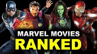 MCU Movies Ranked - All 14 Movies In Order, Worst to Best!