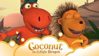 Coconut the little Dragon: Dragon Slickers S1 E10 | WikoKiko Kids TV