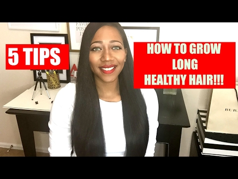 5 TIPS TO GROW LONG HEALTHY HAIR FAST - TYPE 4 HAIR