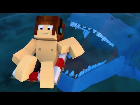 Minecraft : TUBARÃO NA PRAIA !! - Aventuras Com Mods #40