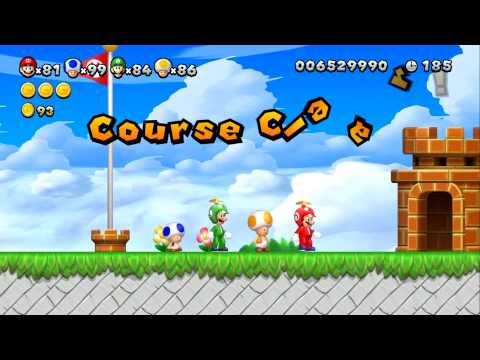 New Super Mario Bros. U - Superstar Road - Part 3