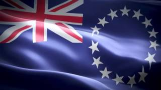 Cook Islands anthem & flag FullHD   Острова Кука гимн и флаг