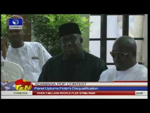 News@10: Fintiri Cleared To Run For Adamawa PDP Primaries
