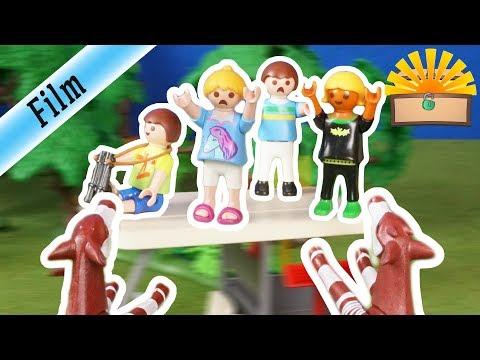 WILDE TIERE GREIFEN KLASSENFAHRT AN - Playmobil Film deutsch - FAMILIE Bergmann #143