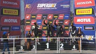 SBK 2019 1ª E. Interlagos-SP - SuperSport, Stock 600cc e 959 Panigale Cup - Corrida na íntegra