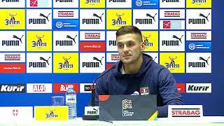 Mladen Krstajić i Dušan Tadić Pred Odlučujući Meč Srbije u Ligi Nacija | SPORT KLUB Fudbal