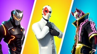 TOP 10 : SKINS LES PLUS BEAUX DE FORTNITE !