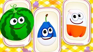 Baby Learn Colors Game - Baby Play Fun Fruit Vegetable & Learn Colors Puzzles With Funny Food 2
