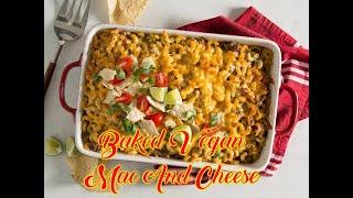 Baked Vegan Mac And Cheese - Cauliflower Buffalo Wings Vegan - Quinoa Burger