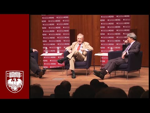 "Eric Holder, Geof Stone, John Ashcroft '67, and Jack Fuller: ""Restoring Justice: The Legacy of Edward Levi"""