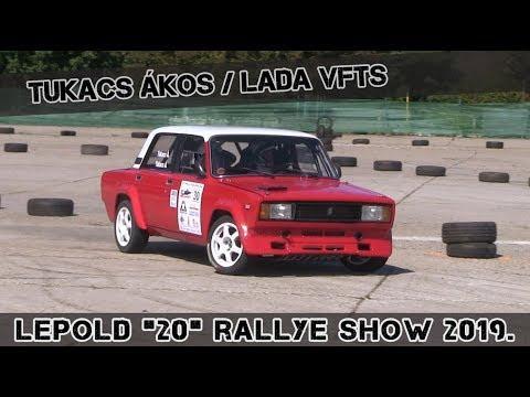 "Tukacs Ákos-Lada VFTS Lepold ""20"" Rallye Show 2019."