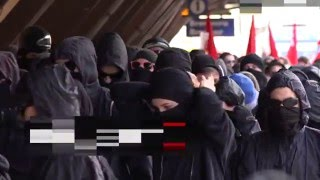 Brennero - massive battles massive battles against the border closure
