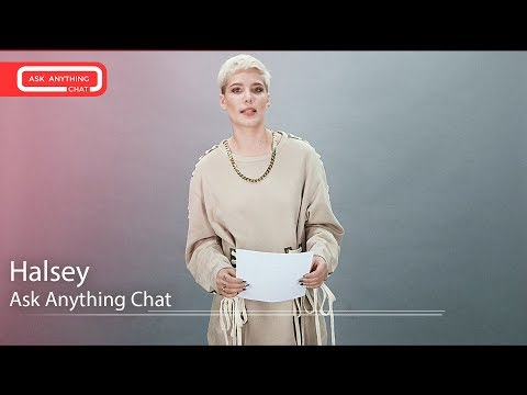 Halsey Tells Us How To Pronounce Her Last Name & Singing w/ Katy Perry. Watch Part 1
