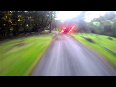 Drone Racing Raw Flight QAV250 vs. Storm Racer