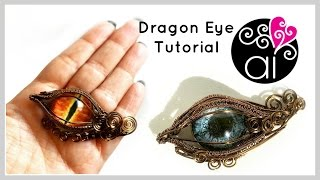 Dragon Eye | Tutorial Wire Wrapping | DIY Evil Eye Jewelry