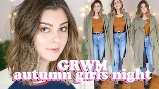 SIZE 14 GET READY WITH ME - AUTUMN CASUAL DINNER OUTFIT | LUCY WOOD