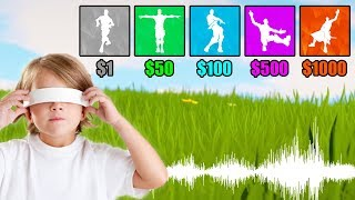 Guess The Fortnite DANCE By Its MUSIC (MONEY CHALLENGE) - Fortnite