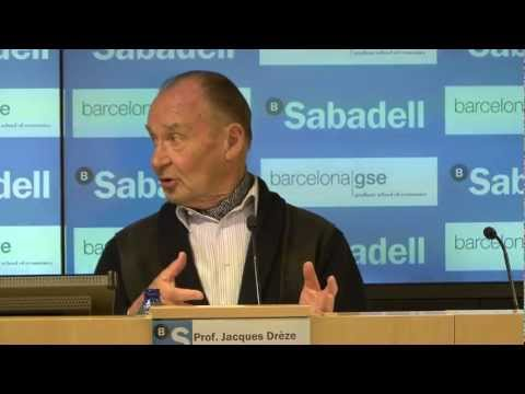 Jacques Drèze:  Fiscal Integration and Growth Stimulation in Europe (Highlights)