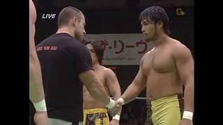NOAH - Bryan Danielson & Davey Richards vs KENTA & Taiji Ishimori