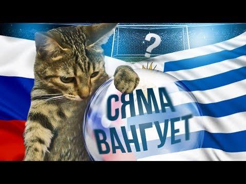 Сяма решает, кто победит в матче Россия – Уругвай