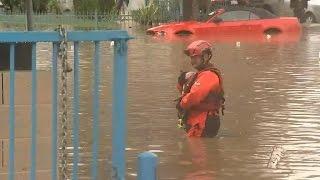 Download Dozens rescued, hundreds evacuated after Calif. floods 3Gp Mp4